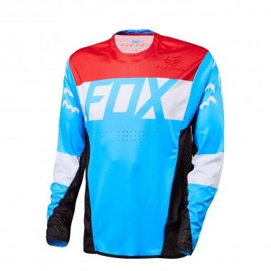 Fox Flexair DH LS Jersey cyan 2016