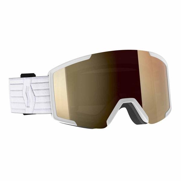 Scott Shield LS white / light sensor bronze chrome 20/21