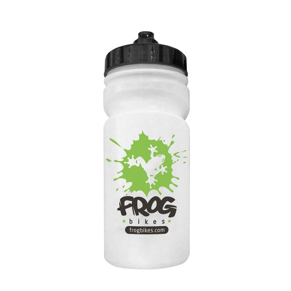 Frog Bikes Trinkflasche clear