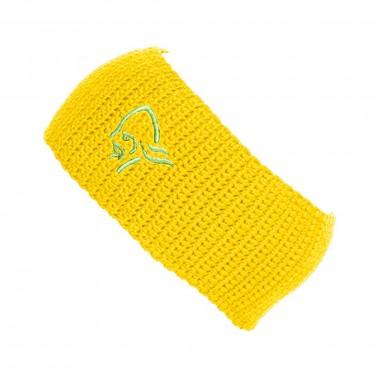 Norrona /29 heavy logo Headband yellow 16/17