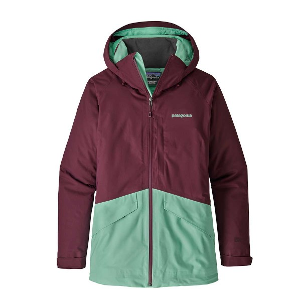 Patagonia Women´s Insulated Snowbelle Jacket dark currant 18/19