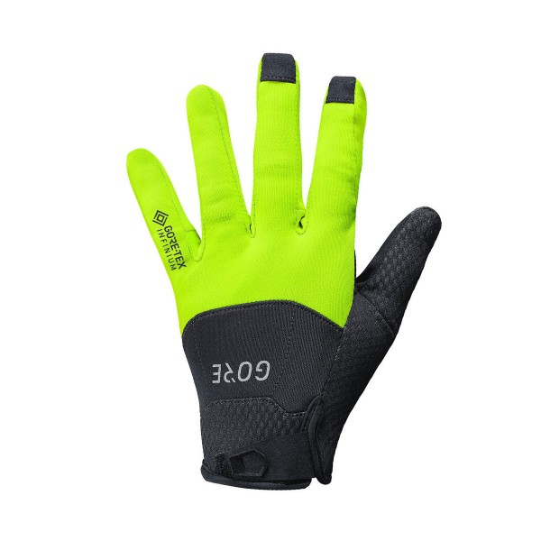 Gore Wear C5 GT Thermo Infinium Gloves black / yellow 21/22