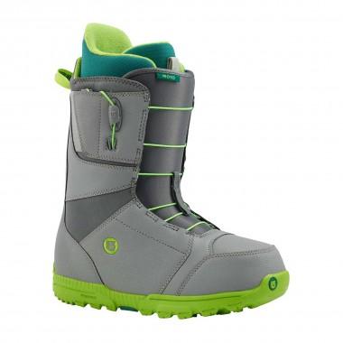 Burton Moto Snowboard Boot gray/green 15/16