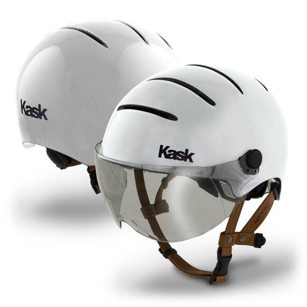 Kask Lifestyle mit Visier white 2021