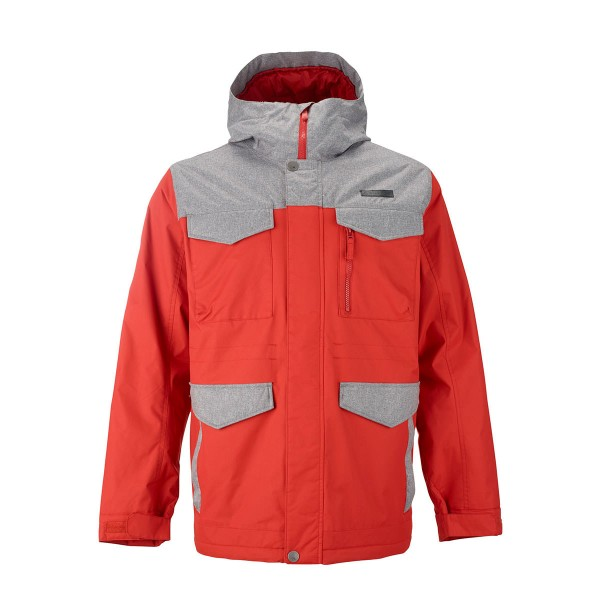 Burton Covert Jacket campfire/htr gray 14/15
