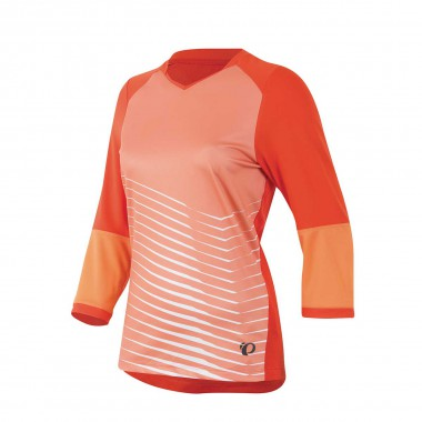 Pearl Izumi Launch 3/4 Sleeve Jersey wms md red 2015