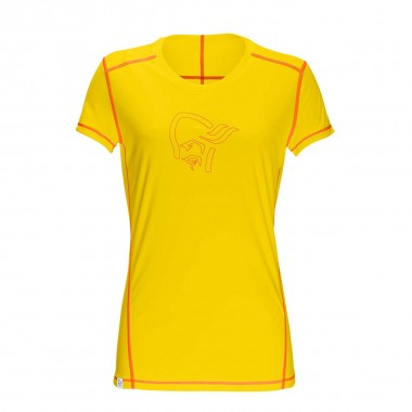 Norrona /29 tech T-Shirt wms mellow yellow 2016
