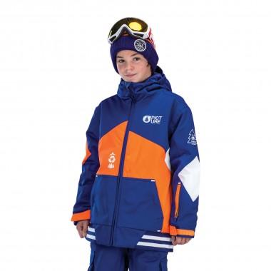 Picture Jura Jacket kids dark blue 15/16