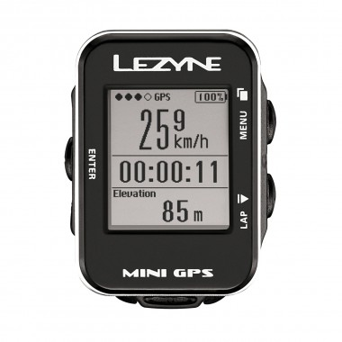 Lezyne Mini GPS black 2016