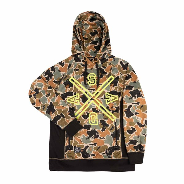 Saga Outerwear Crest Riding Pullover union camo 15/16