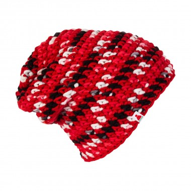 Sionyx Marbles Beanie red/black 13/14