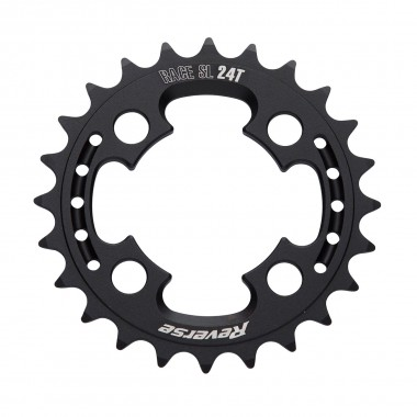 Reverse Race SL Kettenblatt shiftable 4H 24T black