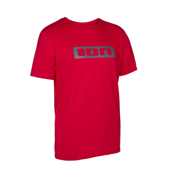 Ion DR Logo SS Tee crimson red 2016