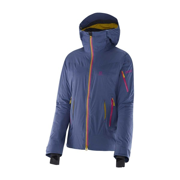 Salomon Soulquest BC Down Jacket abyss blue wms
