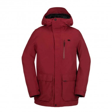 Volcom Utilitarian Jacket blood red 16/17
