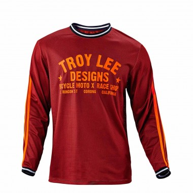 Troy Lee Super Retro Jersey maroon 2016