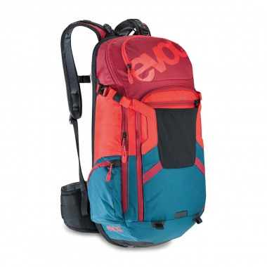 EVOC FR Trail Team 20L petrol/red/ruby 2016