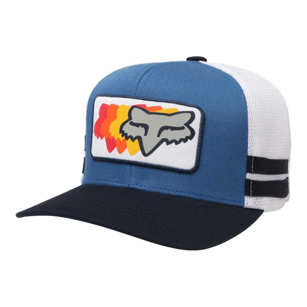 Fox 74 Wins Snapback Hat dusty blue 2018