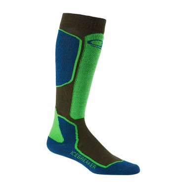 Icebreaker Ski+ Light OTC Sock ivy/largo/turf 15/16
