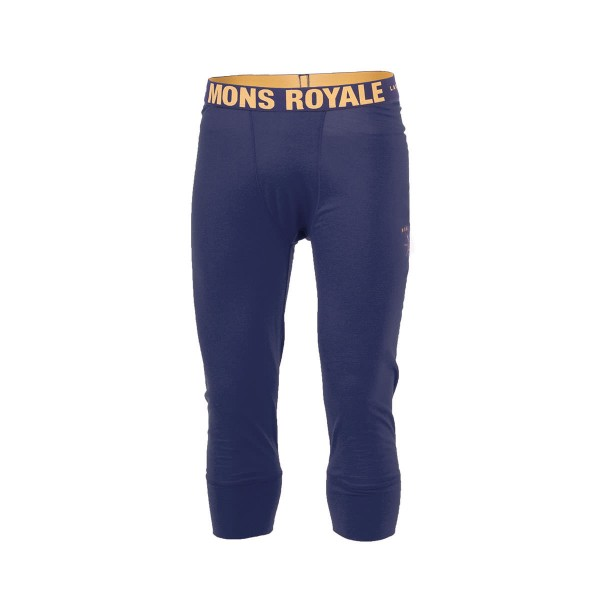 Mons Royale 3/4 Long John navy 15/16