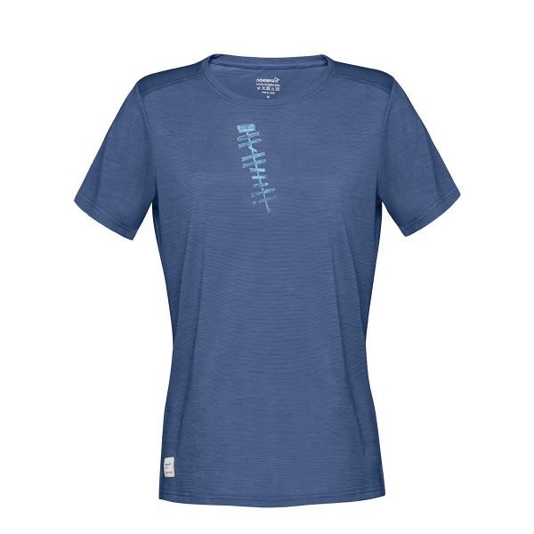 Norrona svalbard wool T-Shirt wms indigo night 2019