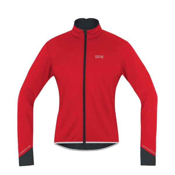 Gore Wear C5 Gore Windstopper Thermo Jacket red / black 19/20