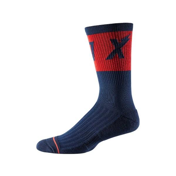 "Fox Racing Trail 8"" Cushion Sock Wurd navy 2020"