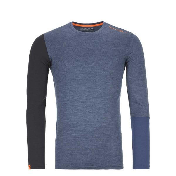 Ortovox 185 Rock'N'Wool LS night blue blend 19/20