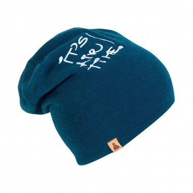 Sionyx It´s Air Time 2in1 Beanie petrol 15/16
