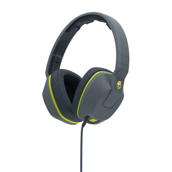 Skullcandy Crusher MIC1 grey/hot lime 15/16