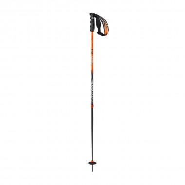 Salomon X 10 Skistöcke black/orange 15/16