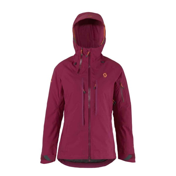 Scott Ultimate GTX Jacket wms purple