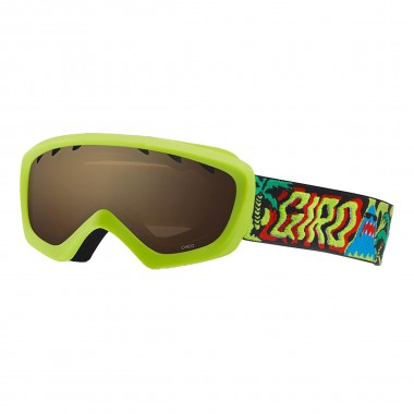 Giro Chico kids lime shark p/amber rose 16/17