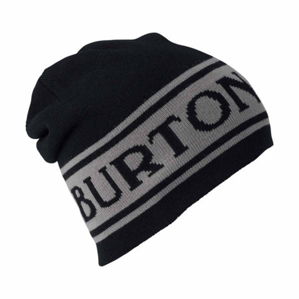 Burton Billboard Beanie true black / iron gray 18/19