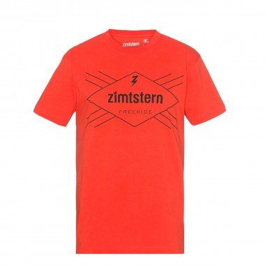 Zimtstern TSM_Ride Free T-Shirt fire 2016