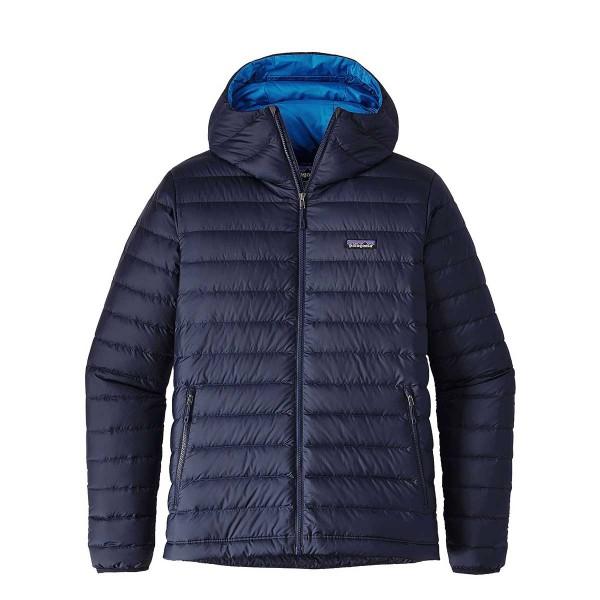 Patagonia Down Sweater Hoody navy blue 17/18