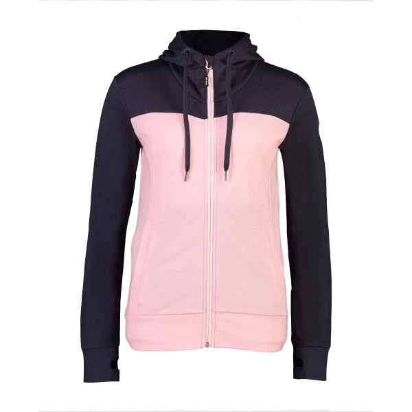 Mons Royale Covert Mid-Hit Hoody wms rosewater/9iron 19/20