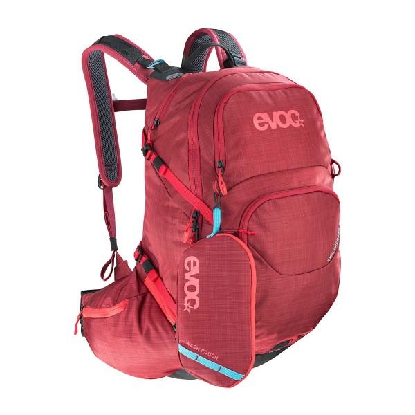 EVOC Explorer Pro 26L heather ruby 2019