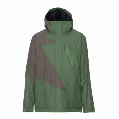 Zimtstern Flash Mash Snow Jacket garden green / tarmac15/16