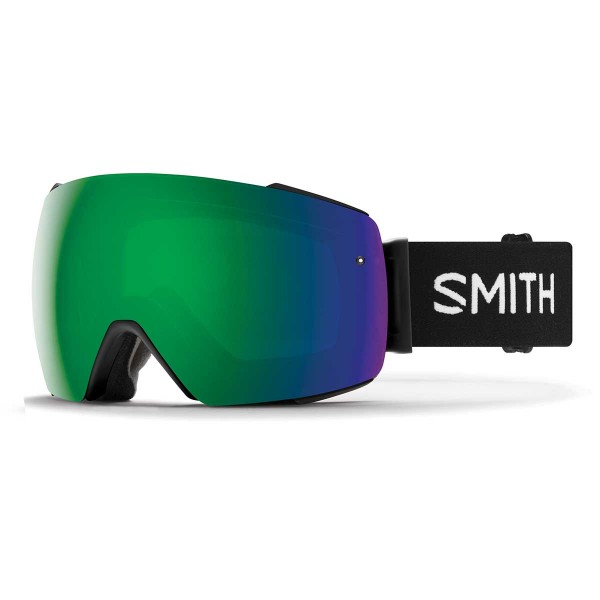 Smith I/O MAG black / ChromaPop sun green mirror 19/20