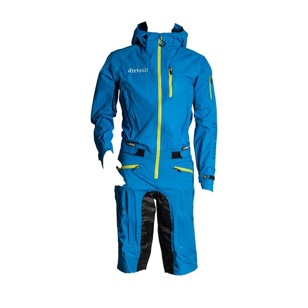 Dirtlej Dirtsuit Classic Edition blue / lime 2020