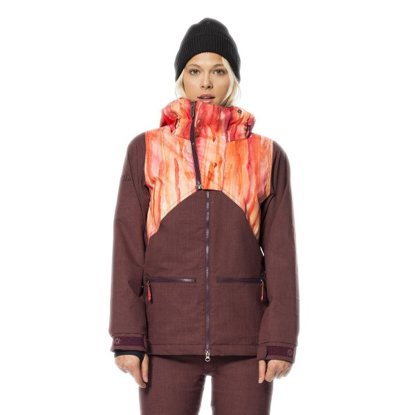 Nikita Hel Jacket wms water color print