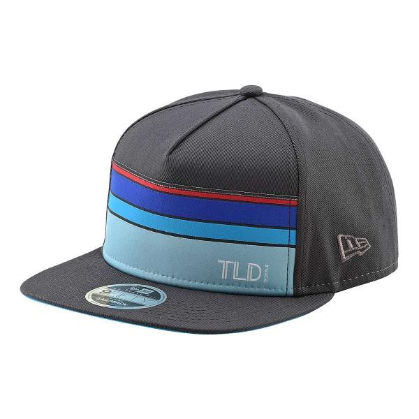 Troy Lee Streamline Snapback Hat graphite 2019