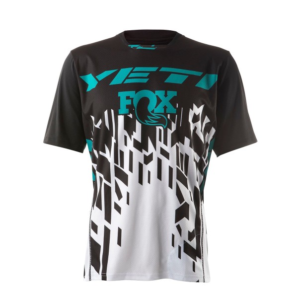 Yeti WC Replica Jersey matrix black / white / turqouise 2020