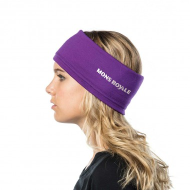 Mons Royale Headband purple 14/15