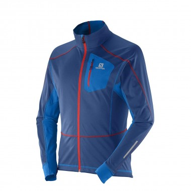 Salomon Equipe Softshell Jacket midnight blue 15/16
