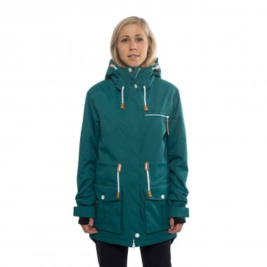 Colour Wear UP Parka wms bottle green 15/16