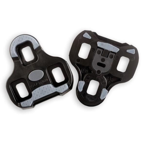 Look Keo Grip Pedalplatten/Cleats schwarz