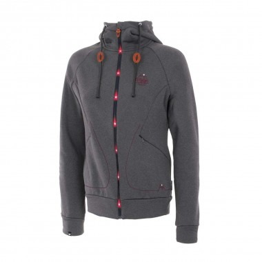 Maloja SchinnasM. Fleece Jacket wms dark cloud 15/16