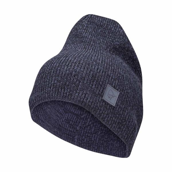 Norrona /29 thin marl knit Beanie cool black 19/20